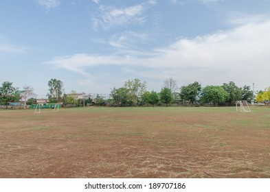 Earth soccer field