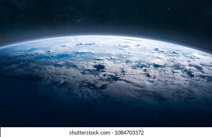 Earth surface in the space