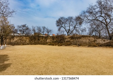 Earth Wall in the Eastern Zhou Dynasty of Rucheng Ruins in Puyang City, Henan Province