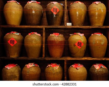 earthen jar used for making wire