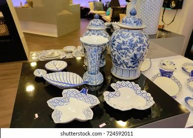 earthenware, Thai Ceramic Bowls, Thai Engraved