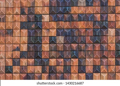 Earthenware wall texture use for background
