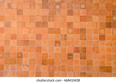 earthenware wall tile texture background