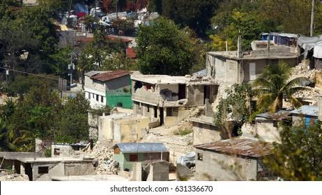 Earthquake consequences. Haiti.