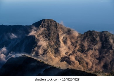 earthquake, Lombok, Indonesia.