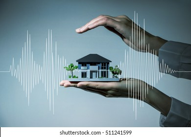 earthquake resistant  house design concept
