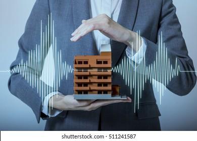 earthquake-resistant  house design concept