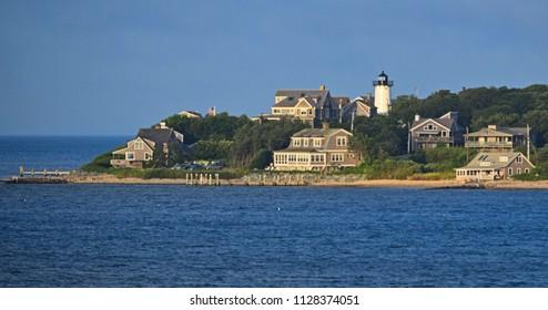 East Chop Light  Oak Bluffs Martha's Vineyard Massachusetts
