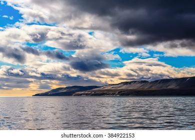 East coast of archipelago Novaya Zemlya, Kara sea