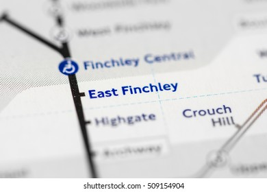 East Finchley Station. Northern Line. London. UK.