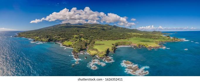 East Maui on the island of Maui