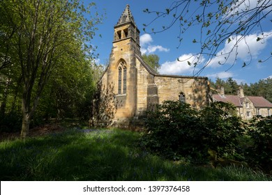 East Moors, North Yorkshire, England - May 12th 2019: Church of Mary Magdalene at East Moors near Helmsley