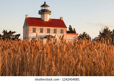 East Point Lighthouse in New Jersey. New Jersey, USA.