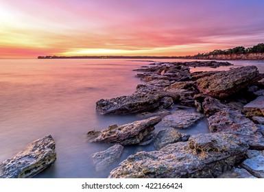 East Point Sunset, Darwin NT Australia