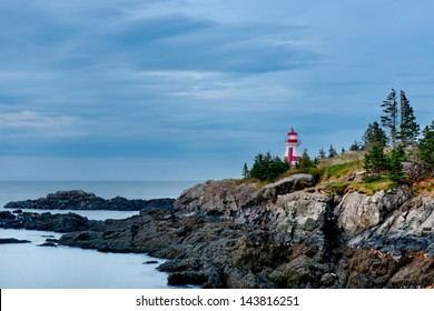 East Quoddy Head Lighthouse, New Brunswick.