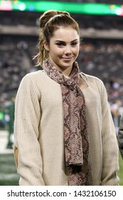 EAST RUTHERFORD, NJ - NOV 22: Olympic medalist McKayla Maroney before the game between the New York Jets and New England Patriots at MetLife Stadium on November 22, 2012 in East Rutherford, New Jersey