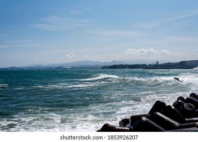 East Sea Coast coastal scenery. - Shutterstock ID 1853926207