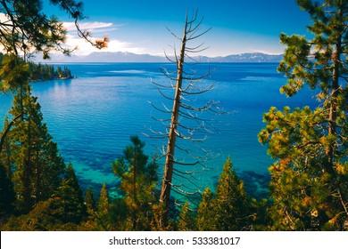 East shores of Lake Tahoe, Nevada