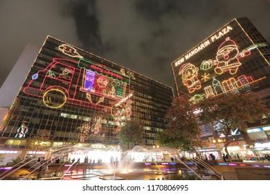 east of Tsim Sha Tsui, christmas lighting 2015