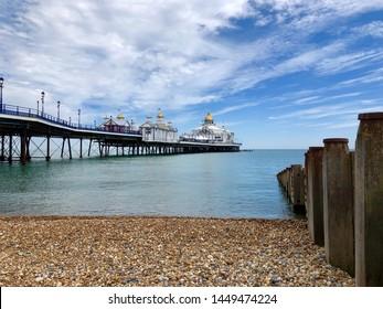 Eastbourne Pier with a Single Groyne