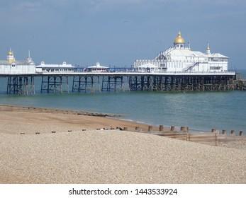 Eastbourne pier in spring 2019