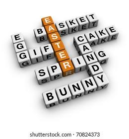 easter (3D crossword orange series)