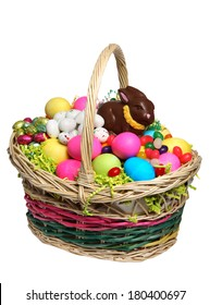 Easter Basket full of Easter Treats