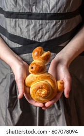 Easter bunny buns or rolls