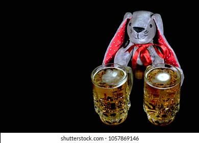 Rabbit Beer Stock Photos Images Photography Shutterstock