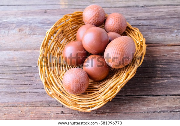 Easter chocolate eggs