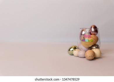 Easter eggs display