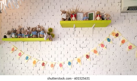 Do it yourself decoration images stock photos vectors shutterstock easter flags shop decoration for easter holiday with easy diy colorful egg flags do solutioingenieria Images