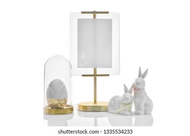 Easter holiday concept luxury mockup