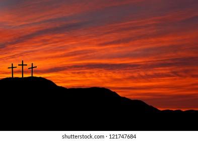 Easter sunrise or sunset