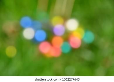 Easteregg bokeh blur