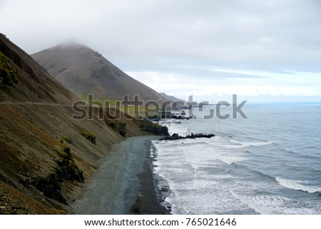 Eastern coast of Iceland near Hofn