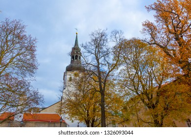 Eastern Europe, Baltic States, Estonia, Tallinn. Old town, The Cathedral of Saint Mary the Virgin or Dome Church or Toompea Cathedral