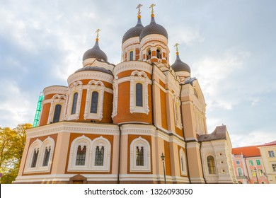 Eastern Europe, Baltic States, Estonia, Tallinn. old town, Alexander Nevsky Cathedral.
