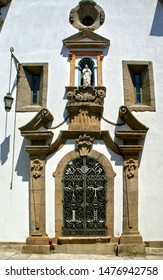 Eastern facade of the Church of Mercy in Penafiel, Portugal