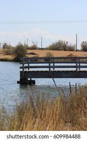 Eastern Idaho-boat dock on lake