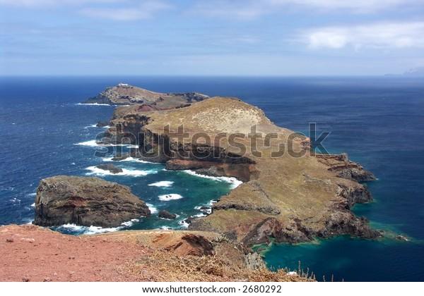 Eastern peninsula Ponta de Sao Lourenco, Madeira