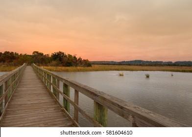 eastern shore of Mobile Bay Mobile Alabama
