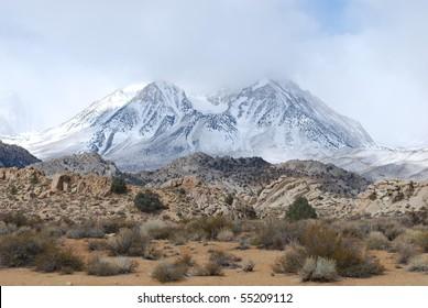 Eastern Sierra Mountains near Bishop, California