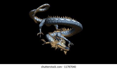 eastern style dragon