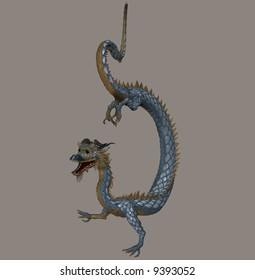 An eastern style dragon