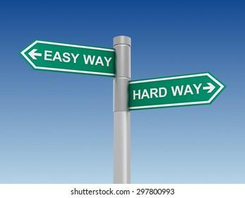 easy hard way