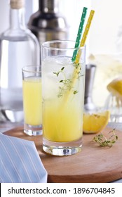 Easy summer cocktail ( Limoncello)  fresh lemon juice, vodka and club soda or sparkling water. This  drink  is the best way to cool off on a hot day.