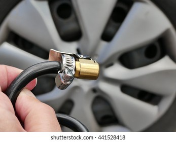 easy way to pump up the tyres