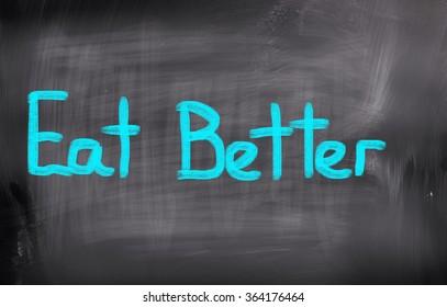 Eat Better Concept