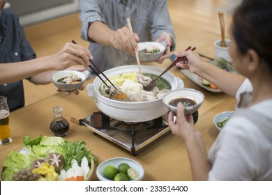 Eat with everyone Japan pot cuisine